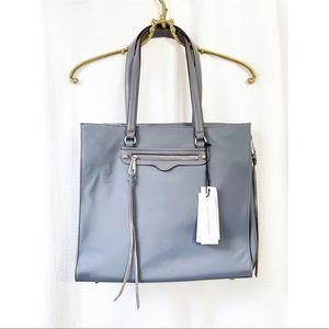 Rebecca Minkoff grey always on side zip regan bag
